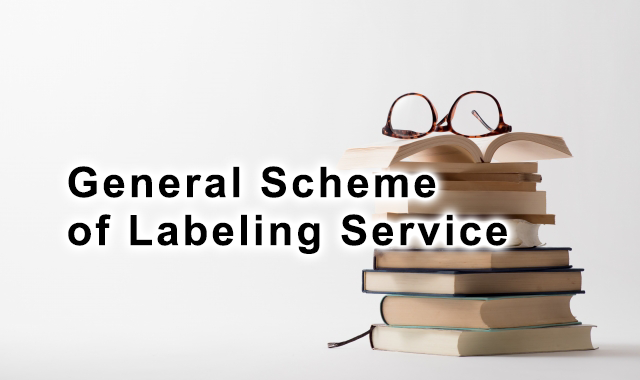 General Scheme of Labeling Service
